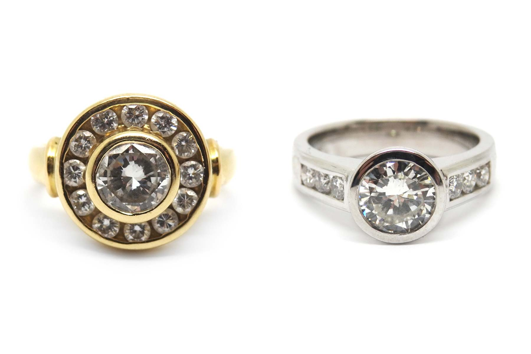 Creating an engagement ring for an inherited piece. Redesigning to create a timeless ring that reflects the new owner
